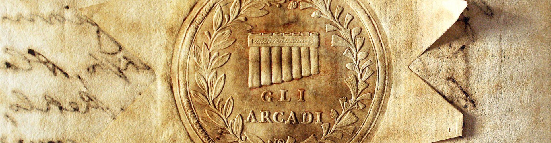 I testi statutari del Commune d'Arcadia